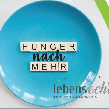 Hunger nach mehr….Vortrag